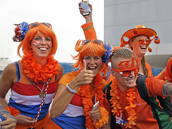 soccer fans 1 600x450 11 of the Craziest World Cup Fans Weve Seen (PHOTOS)