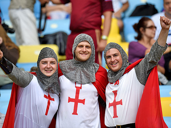 soccer fans 2 600x450 11 of the Craziest World Cup Fans Weve Seen (PHOTOS)