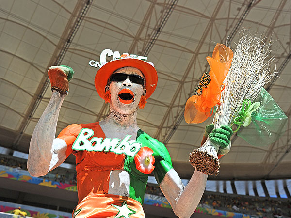 soccer fans 3 600x450 11 of the Craziest World Cup Fans Weve Seen (PHOTOS)