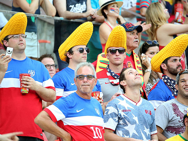 soccer fans 4 600x450 11 of the Craziest World Cup Fans Weve Seen (PHOTOS)