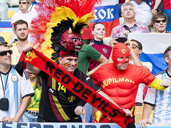 soccer fans 7 600x450 11 of the Craziest World Cup Fans Weve Seen (PHOTOS)