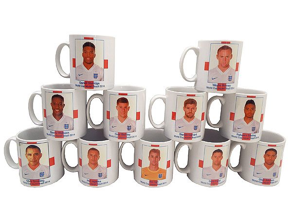 Barack Obama's Face Mistakenly Put on England Player's World Cup Mug| World Cup 2014, Barack Obama