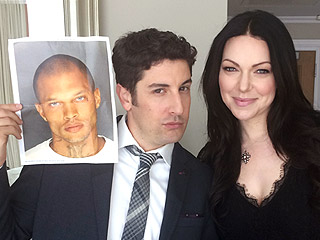 Orange Is the New Black's Laura Prepon and Jason Biggs Give Advice to 'Hottie Thug' Jeremy Meeks