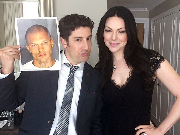 Orange Is the New Black's Laure Prepon and Jason Biggs Talk About Jeremy Meeks