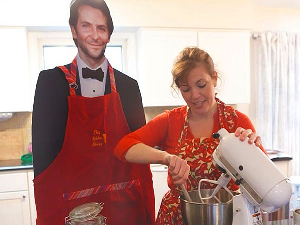 PHOTOS: This Mom Brings Her Bradley Cooper Cardboard Cutout Everywhere