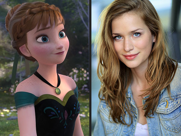 elizabeth lail 600x450 See Wholl Play Frozens Anna and Kristoff on Once Upon a Time
