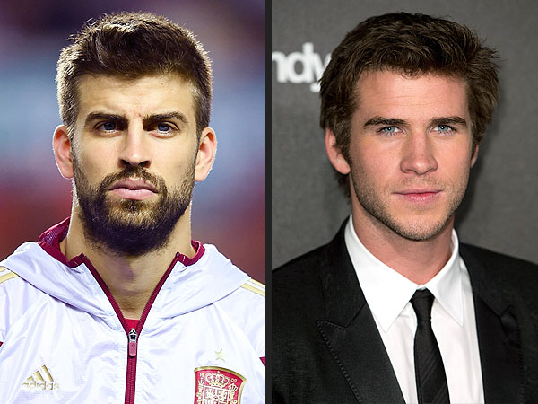 World Cup Soccer Stars and Their Celebrity Twins| World Cup 2014, Cristiano Ronaldo, Gerard Pique, Kevin Bacon