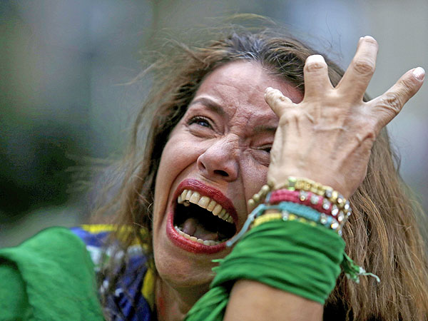 See Brazil Fans in Shock and Despair After World Cup Loss (PHOTOS)| World Cup 2014, Sports, Around the Web