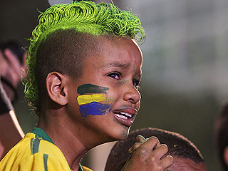 See Brazil Fans in Shock and Despair After World Cup Loss (PHOTOS)