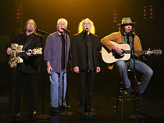 Jimmy Fallon Channels Neil Young, Sings 'Fancy' with Crosby, Stills and Nash | David Crosby, Graham Nash, Jimmy Fallon