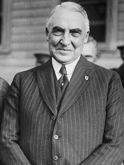 essay on warren g harding