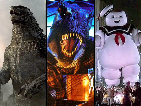 INFOGRAPHIC: Which Blockbuster Movie Monster Has Caused the Most Damage?