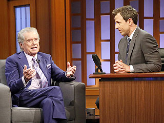 How a Chimp on a Bike Once Got Regis Philbin in Trouble | Late Night, Regis Philbin, Seth Meyers