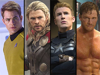 Chris-mas in August: Which Chris Is Hollywood's Hottest?