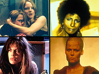 Meet the Expenda-Belles: Our Dream Team of Female Action Heroes | Jodie Foster, Linda Hamilton, Pam Grier, Sigourney Weaver