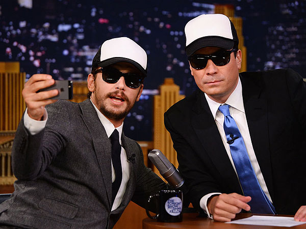 Jimmy Fallon Teases James Franco's 'Selfie Pose' | James Franco, Jimmy Fallon