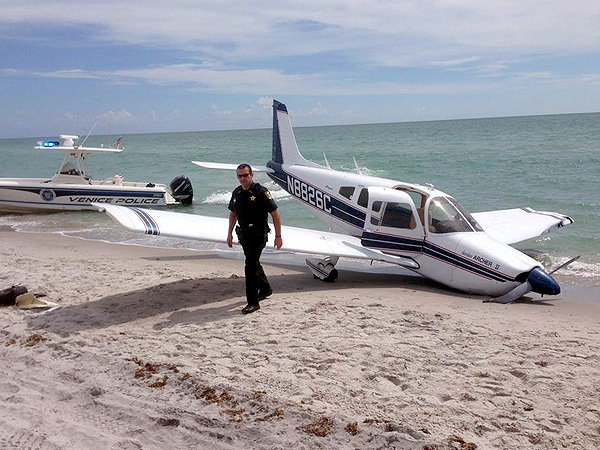 Small Plane Crashes into Father and Daughter Walking on Florida Beach