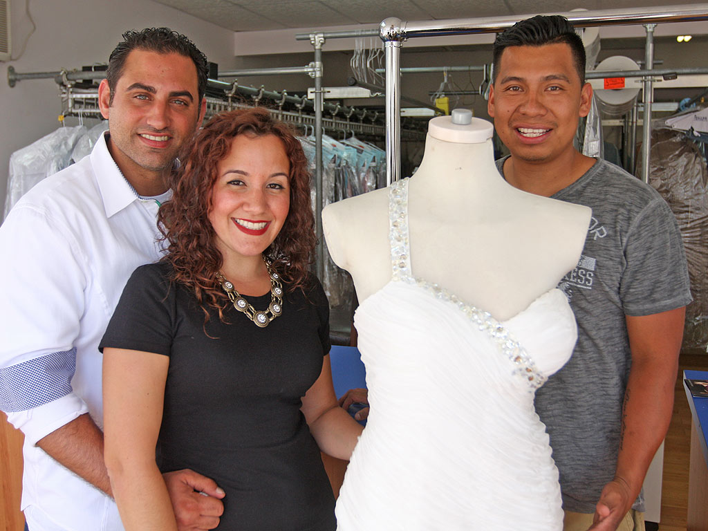 Woman Reunites with Wedding Dress Lost During Superstorm Sandy