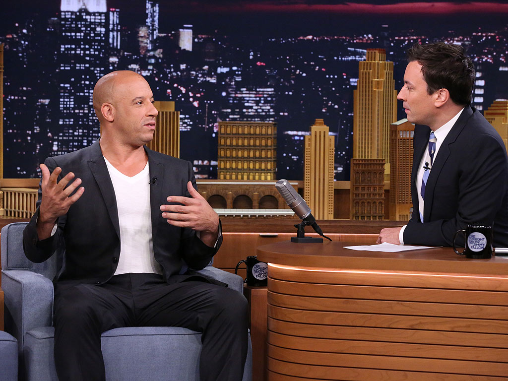 Vin Diesel Busts Out His Old Breakdancing Moves on Tonight Show (VIDEO)