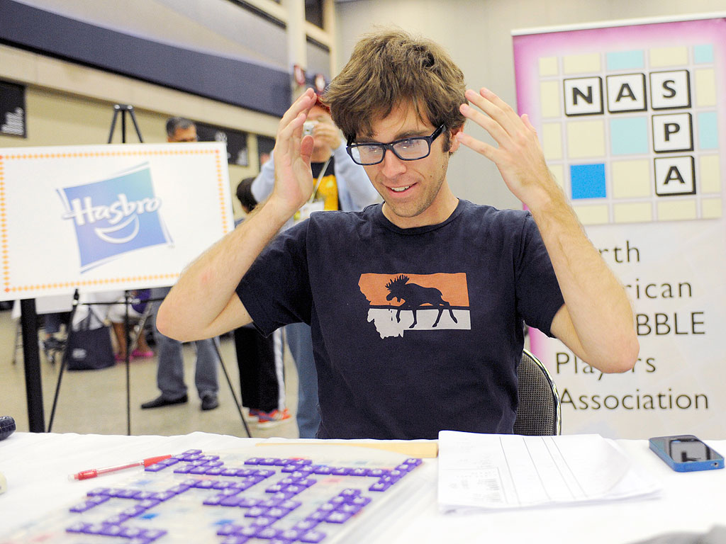 Scrabble National Champion Is Oregon Man Conrad Bassett-Bouchard