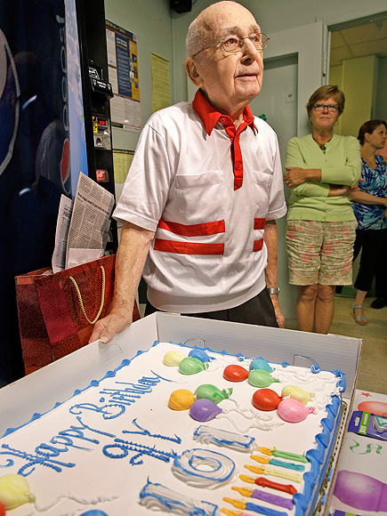 New Jersey Man Celebrates 101st Birthday at Job He's Had for 73 Years (PHOTOS)