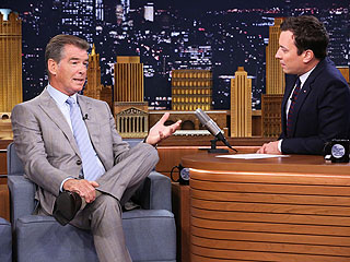 Pierce Brosnan Loses to Jimmy Fallon in 'GoldenEye 007' (VIDEO) | Jimmy Fallon, Pierce Brosnan