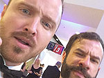 This Brazilian Blogger Got a Ton of Selfies with Stars at the Emmys | Aaron Paul
