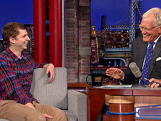 How Michael Cera Pranked an Entire Audience | David Letterman, Michael Cera