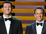 WATCH: The Funniest Part of the Emmys Didn't Happen Onstage | Seth Meyers