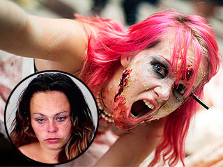Woman Arrested for Biting Homeowner, Calls It 'Zombie Game'