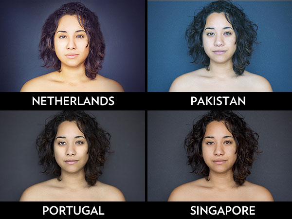 What Happens When a Biracial Woman Asks 18 Countries to Photoshop Her Portrait?| Around the Web, Real People Stories