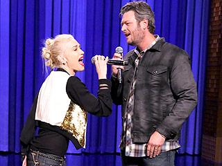 Gwen Stefani Takes on Blake Shelton in a Lip-Sync Face-Off | Blake Shelton, Gwen Stefani