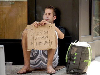WATCH: Homeless Man Claims to Survive by Going Home with 3-4 Women a Week