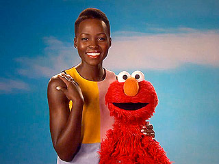 Elmo and Lupita Nyong'o Teach Kids to Love Their Skin (VIDEO)