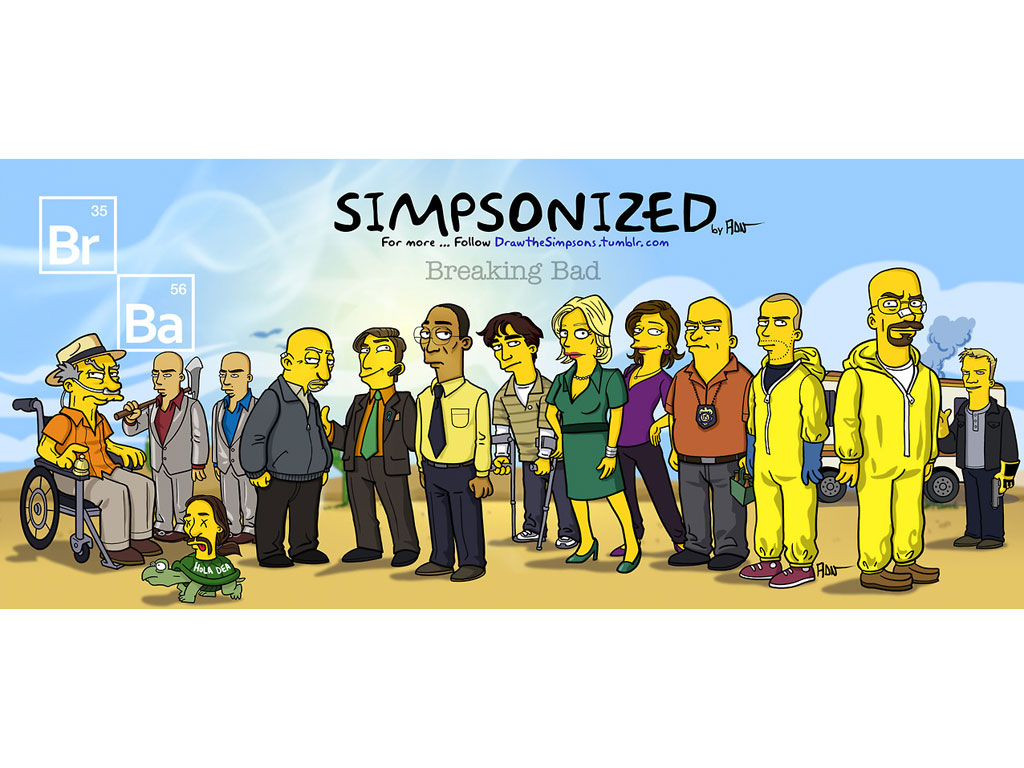 ADN-Z 'Simpsons-izes''Breaking Bad,' 'Game of Thrones' and More