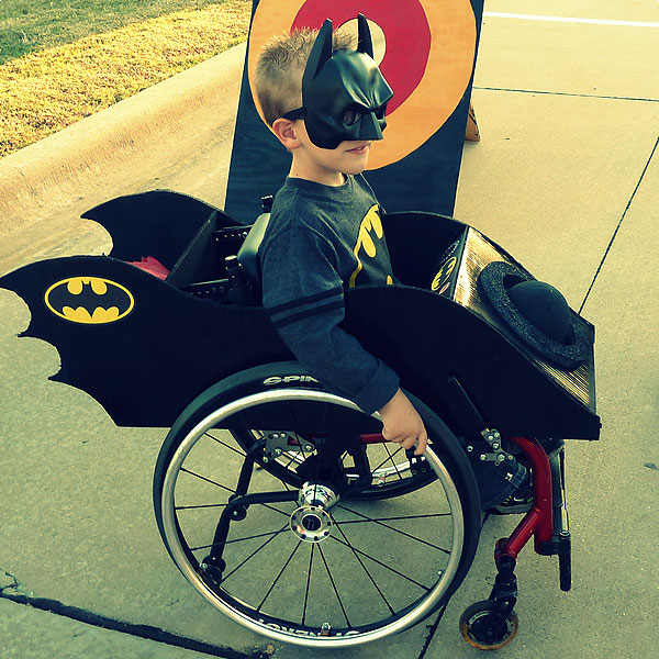 Mom Dresses Up Son's Wheelchair with Clever Halloween Costumes| Good Deeds, Around the Web, Real People Stories