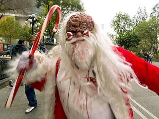 Drunken Santa Zombie Cited for Entering St. Paul Home