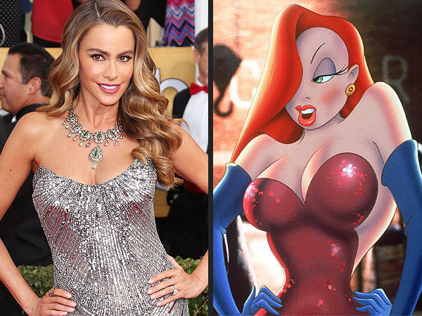Celebrities Who Look Like Jessica Rabbit: Photos