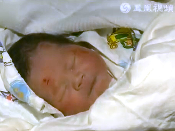 'Miracle Baby' Survives Birth During Motorbike Crash in China
