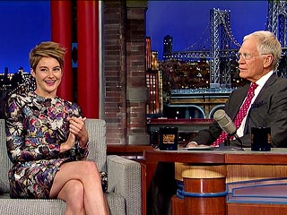 Shailene Woodley Explains the Benefits of Eating Clay | David Letterman, Shailene Woodley