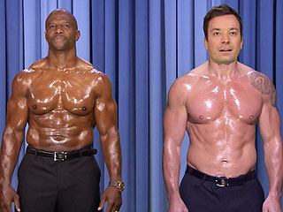 Watch Jimmy Fallon and Terry Crews 'Nip Sync' Battle on Tonight Show | Jimmy Fallon, Terry Crews