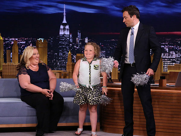 Honey Boo Boo Performs Cheer Routine with Jimmy on The Tonight Show (VIDEO) | Jimmy Fallon