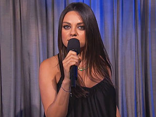 Mila Kunis Explains to Jimmy Kimmel Why Men Can't Say 'We're Expecting' (VIDEO) | Mila Kunis