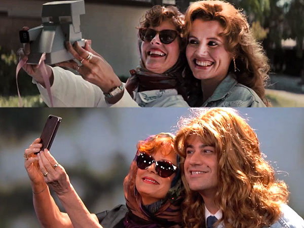 Watch Susan Sarandon and Jimmy Kimmel Recreate the Thelma & Louise Selfie