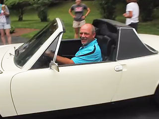 Daughter Surprises Stepdad with Long-Lost Porsche (VIDEO)
