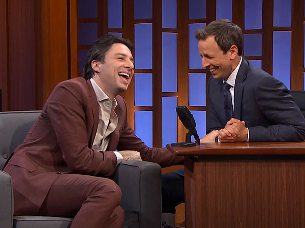Zach Braff's Most Unusual Kickstarter Donor Request (VIDEO)