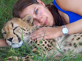 See This Woman's Jealousy-Inspiring Friendship with a Cheetah