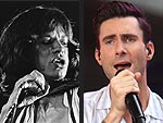 PEOPLE Turns 40: Is Adam the New Mick? | Adam Levine, Mick Jagger