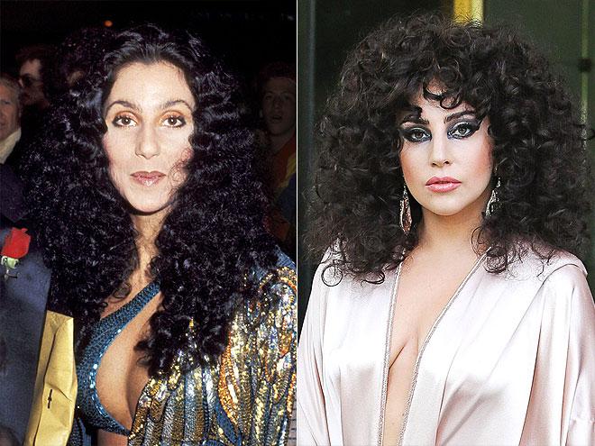 CHER & GAGA photo | Cher, Lady Gaga