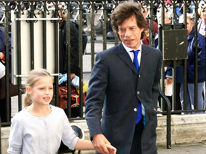 MICK & GEORGIA MAY JAGGER photo | Mick Jagger